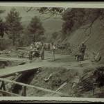 Costruzione strada di accesso alla cava