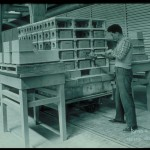 Preparazione carrello per forno a gas